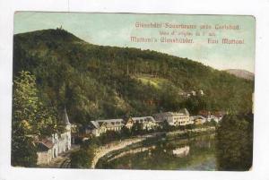 Giesshubl Sauerbrunn pres Carlsbad, 1890s