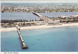 FLORIDA, PU-1983; Aerial View Of Lake Worth
