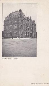 Street view showing Peoria Post Office, Peoria, Illinois, 00-10s