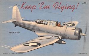 Vindicator, US Air Corps Series Patriotic Unused