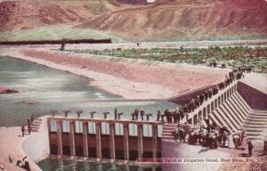 Nevada Reno Head Gates Of Irrigation Canal
