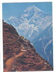 Tracking route to Everest side, Nepal, 50-70s