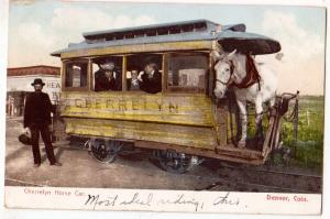 Cherrelyn Horse Car, Denver Colo