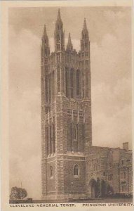 New Jersey Princeton Cleveland Memorial Tower Princeton University Albatype
