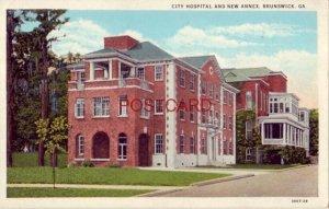 CITY HOSPITAL AND NEW ANNEX, BRUNSWICK, GA.