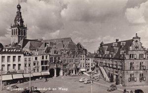 Nijmegen St. Stevenskerk En Waag Bata Superstore Real Photo Dutch Postcard