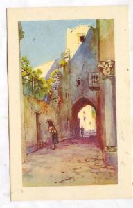 Artist Signed, Ravello - Una strada, Firenze, Toscana, Italy, 10-20s