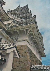 Japan Postcard Himeji Castle japanese architecture