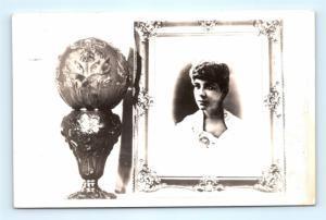 Postcard Souvenir RPPC Black Woman Bucket of Blood Saloon Virginia City NV G19