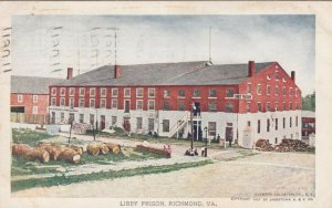 RICHMOND , Virginia , PU-1907 ; Libby Prison