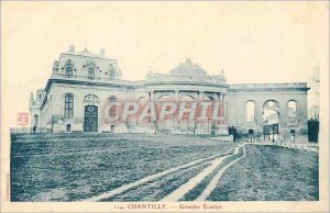 Old Postcard Chantilly Grand Stables