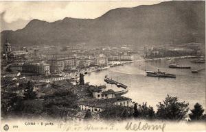 CPA Como Il porto. ITALY (396390)