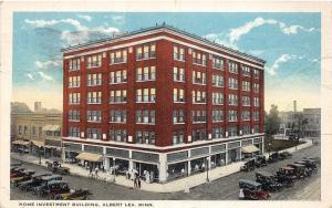 C84/ Albert Lea Minnesota Mn Postcard 1924 Home Investment Building