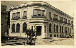 mexico, TAMPICO (?), Compania Telefonica y Telegrafica Mexicana (1920s) RPPC