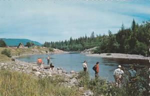 The Matane River famous for its salmon fishing,  Matane,  Quebec,  Canada,  4...