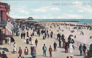 New Jersey Atlantic City Board Walk 1908