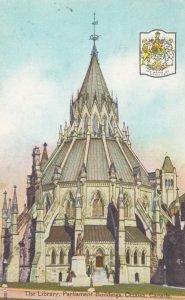 OTTAWA , Ontario , Canada , 1935 ; Library, Parliament Bldgs