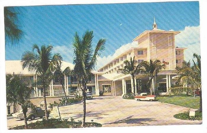 The new and beautiful Nassau Beach Lodge, Nassau, Bahamas, 40-60s