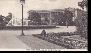 Pennsylvania Philadelphia The Free Library Logan Square Albertype