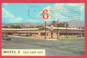 GREETINGS MOTEL 6 SALT LAKE CITY, UTAH  1971  SEE SCAN