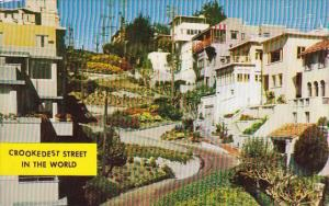 Crookedest Street In The World San Francisco California