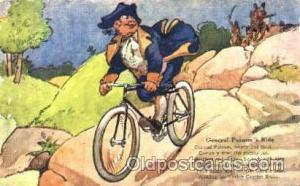 General Putnam's Ride, Advertising Postcard Post Card  General Putnam's Ride