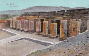 ABYDOS , Egypt , 00-10s ; Les Temples