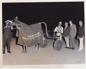 RP; ILLINOIS, MANNART DUER Winner Of The Hambletonian Trust Fund Pace At MAYW...