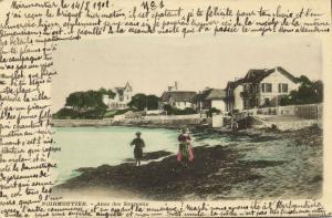 france, NOIRMOUTIER, Anse des Souzeaux (1902) Stamp