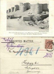 afghanistan, GHAZNI GHAZNIN غزنی, City Wall (1899) Postcard