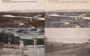 Menai Straits Puffin Island 4x Welsh Old Postcard s