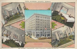 AUGUSTA , Georgia , 1900-10s ; Hotel Richmond