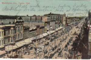 OGDEN , Utah, PU-1906 ; Washington Avenue
