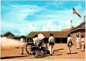 Minnesota Historic Fort Snelling Canon Firing