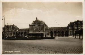 CPA GRONINGEN Station NETHERLANDS (604207)