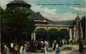 CPA AK Fortier 194, Dakar- Le Marché, SENEGAL (761772)