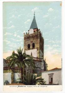 Madeira, Portugal, 00-10s   Funchal , Torre da Cathedral