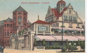 MUNCHEN , Germany , 1912 ; Kunstierhaus & Synagoge (Jewish)