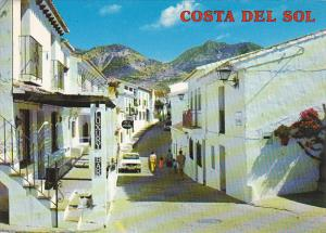 Spain Costa Del Sol Benalmadena Calle Tipica
