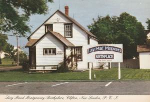 Lucy Maud Montgomery Birthplace - New London PEI, Prince Edward Island, Canada