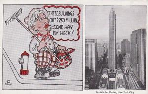 Humour These Buildings Cost 250 Million Some Hay By Heck Rockefeller Center N...