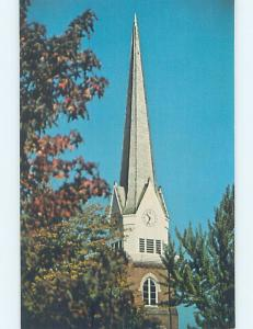 Unused Pre-1980 CHURCH SCENE Sewickley - Near Moon & Pittsburgh PA A7228