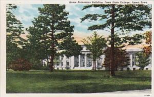 Iowa Ames Home Economics Building Iowa State College Curteich