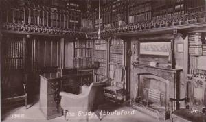 Scotland Abbotsford The Study 1908