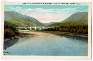 New Lackawanna Bridge, Del Water Gap PA