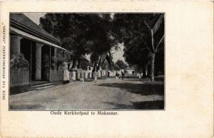 INDONESIA PC DUTCH INDIES - Oude Kerkhofpad te Makassar (a1705)