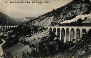 CPA  Ligne de Grenoble á Gap - Les Viaducs de Cielles (247205)