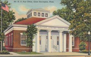GREAT BARRINGTON, Massachusetts, 1941; U.S. Post Office