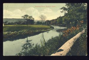 Roxbury, Connecticut/CT/Conn Postcard, Shepaug River, 1911!