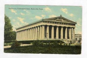Parthenon, Centennial Park, Nashville, Tennessee, PU 1911